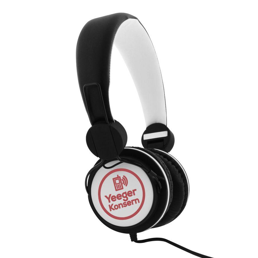 Casque audio personnalisé Be colour - Cadeau d'entreprise high-tech