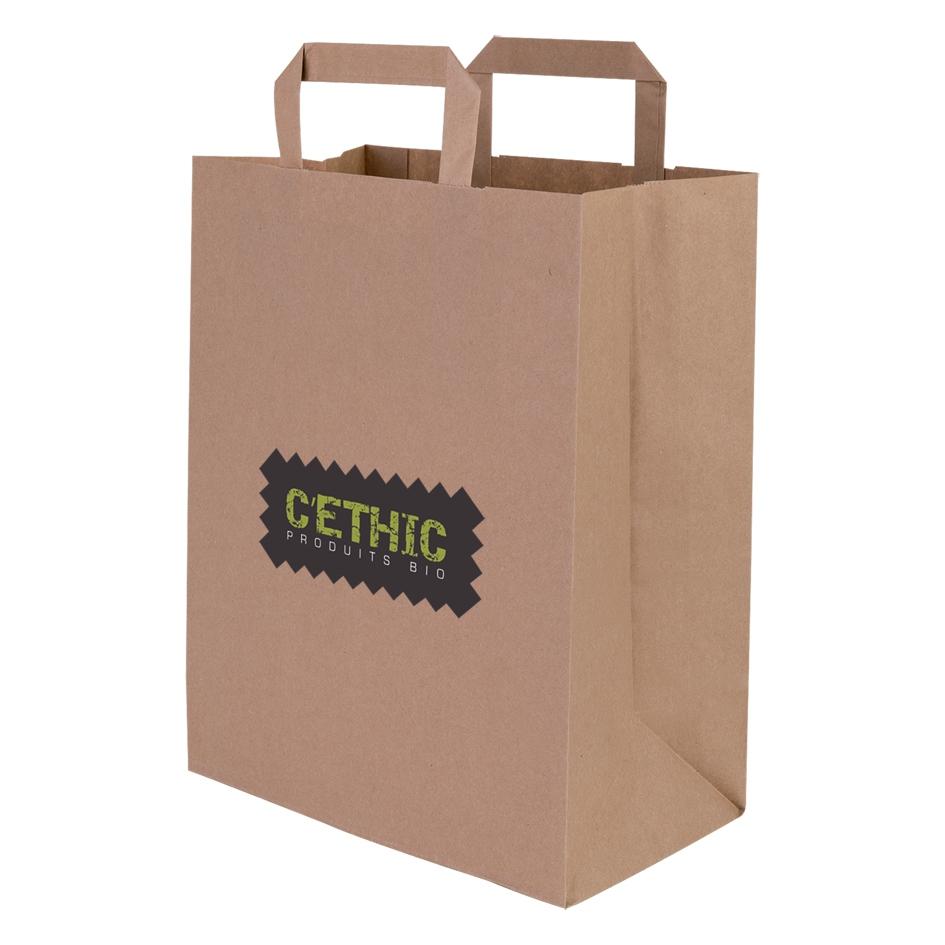 Sac shopping publicitaire écologique Old school - sac personnalisable