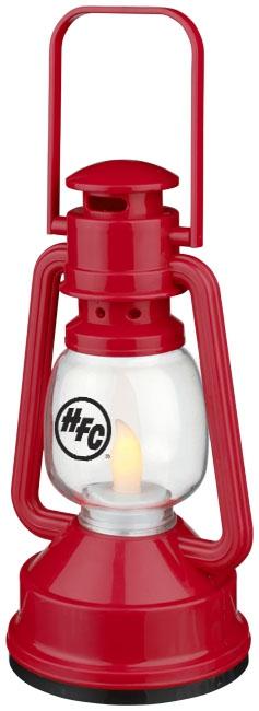 Lampe publicitaire - Lanterne personnalisée LED Esmerald - rouge