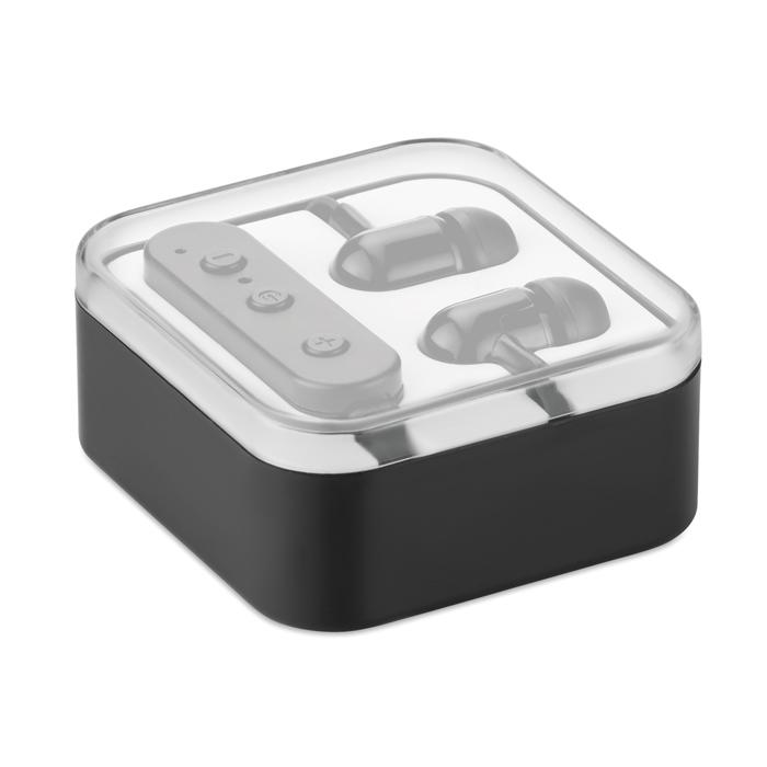 Ecouteurs Bluetooth® personnalisés Bluephone - noir