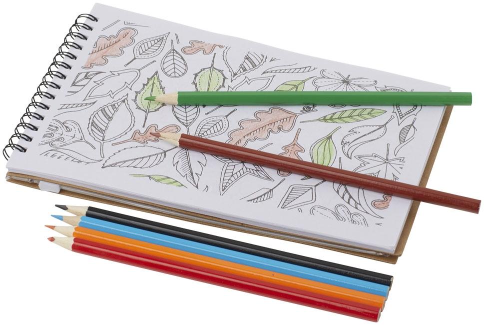 Set de coloriage Hoppi - cadeau publicitaire