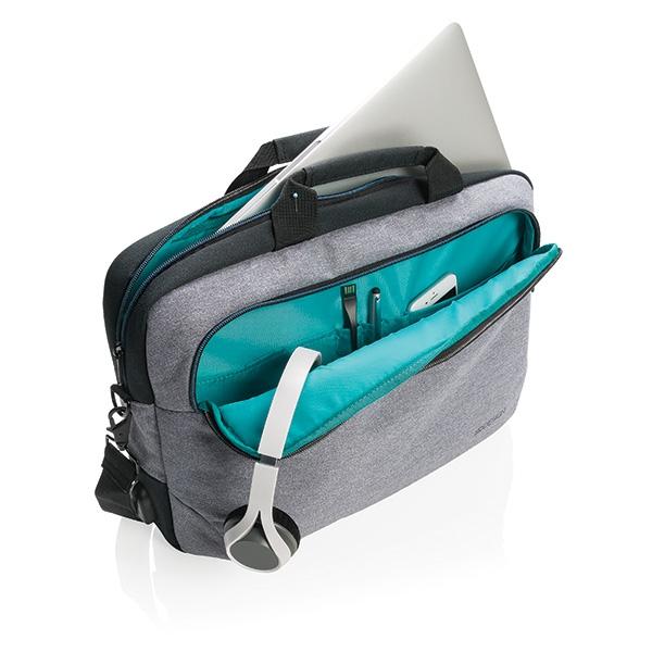 """Sacoche publicitaire pour ordinateur portable 15"""" Arata - Objet publicitaire bagage"""