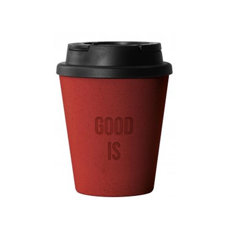 Mug isotherme publicitaire Minimu rouge