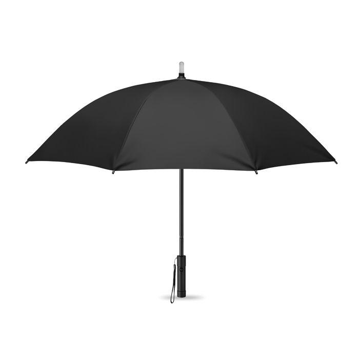 Parapluie personnalisé avec lampe torche à LED Lightbrella - objet publicitaire