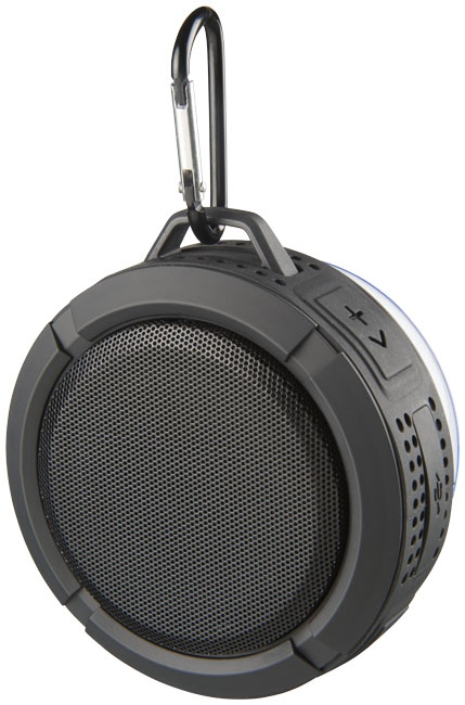 Enceinte Bluetooth® personnalisée pour douche et outdoor RainyDay noire