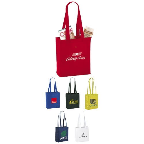 Sacs shopping publicitaires Mini Elm - sacs shopping personnalisables