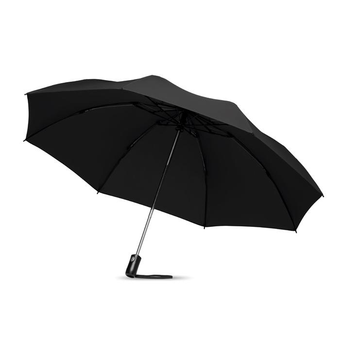 Parapluie publicitaire réversible pliable Dundee - Cadeau publicitaire