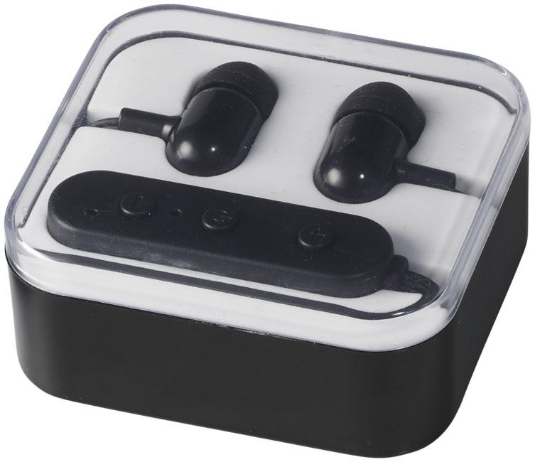 Ecouteurs Bluetooth® publicitaires Color Pop dans boîter