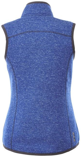 Textile publicitaire - Bodywarmer publicitaire Fontaine Femme
