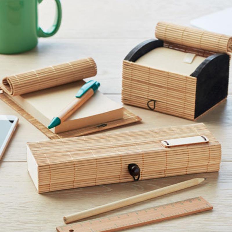 Set d'écriture en bambou CORTINA