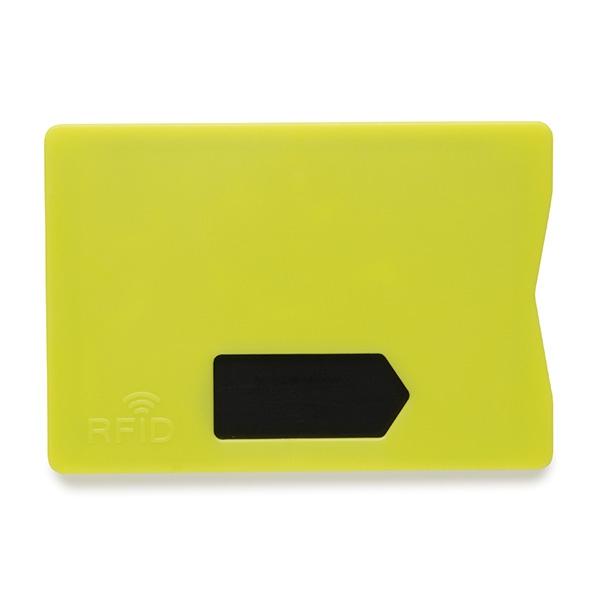 Porte-cartes publicitaire RFID - gris