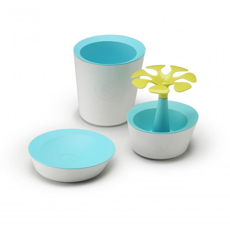 Set MexPop turquoise/jaune - cadeau d'entreprise écologique