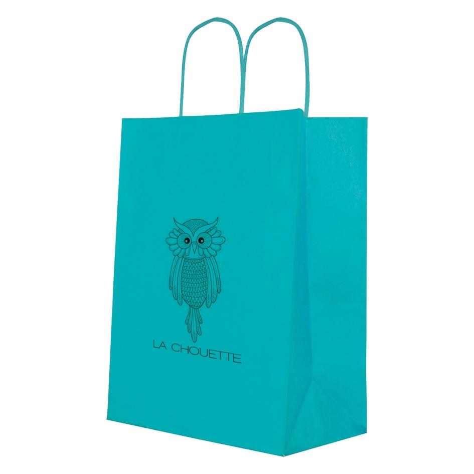 Sac shopping publicitaire écologique Modish Full colors