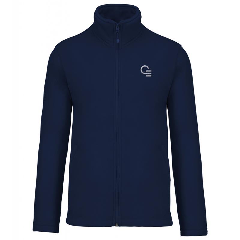 veste polaire publicitaire zippée Falco - textile publicitaire