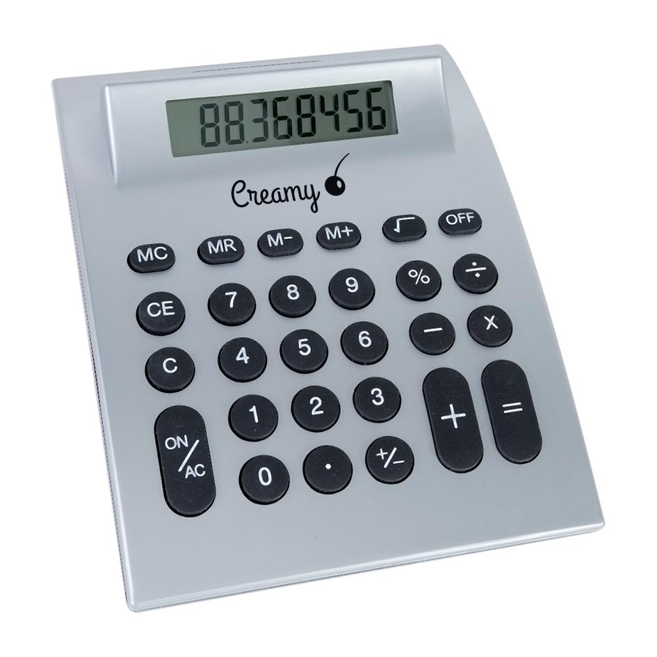 Calculatrice personnalisable écologique Apéry - objet publicitaire