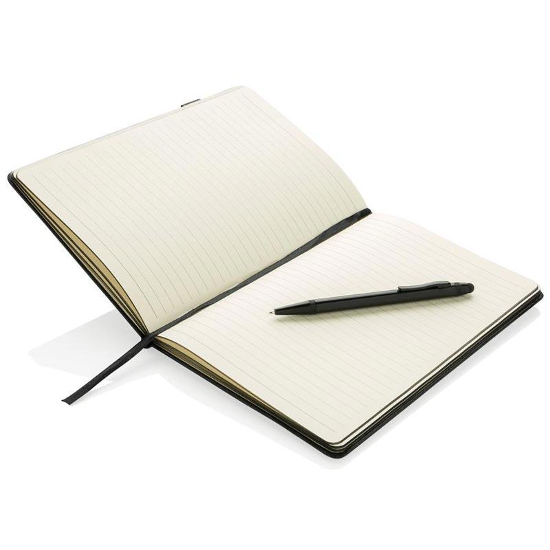 Cadeau séminaires - Set carnet personnalisable Loïs clé USB 8Go et stylo-stylet
