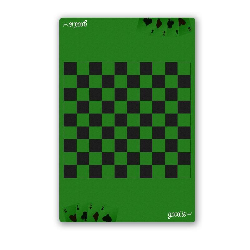 Mini tapis de cartes Mise