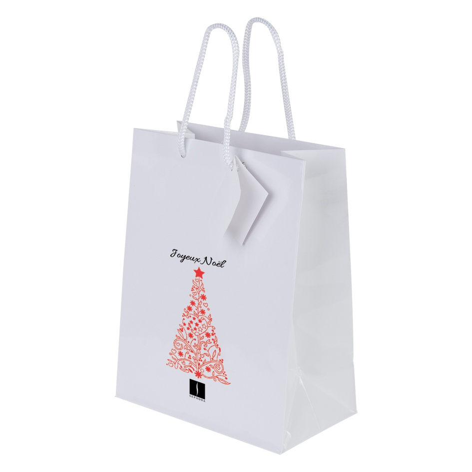 Sac shopping promotionnel Shiny - sac shopping publicitaire