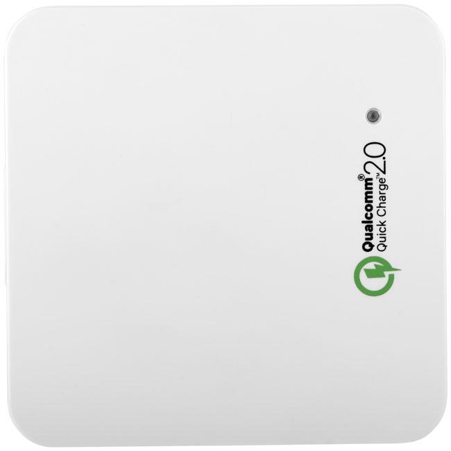 Hub publicitaire USB Quick Charge 2.0 à charge rapide