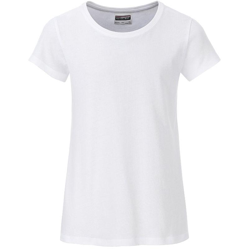 T-shirt personnalisé bio Enfant Kim - Tee-shirt publicitaire biologique - rouge