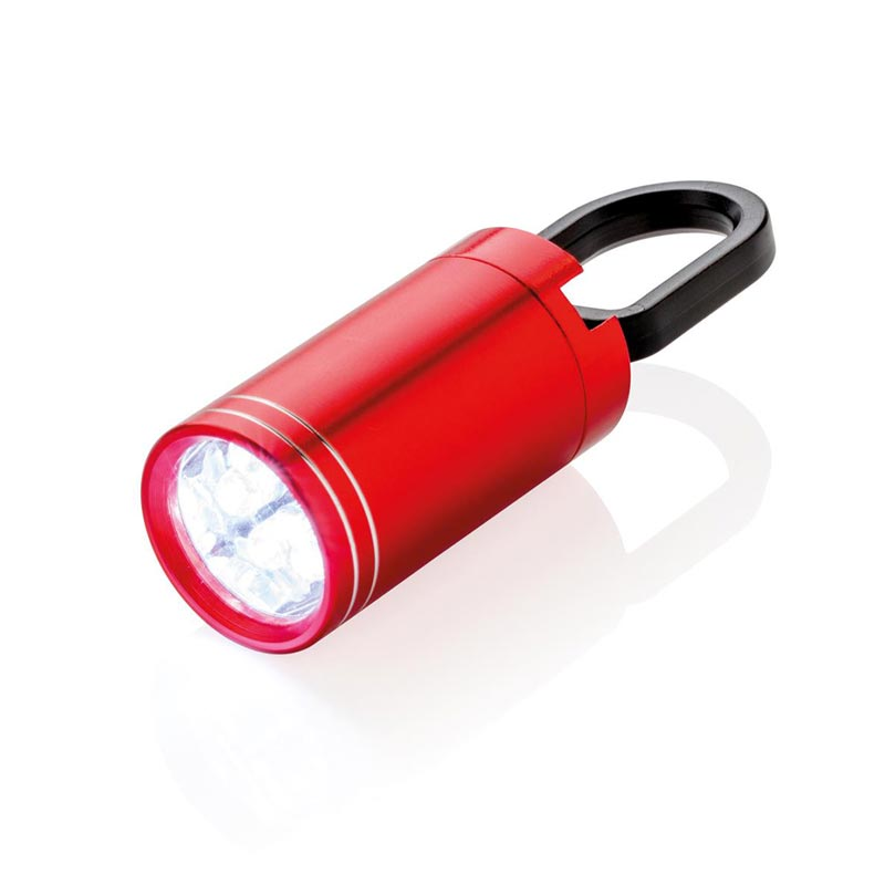 Lampe torche personnalisable LED Pull it - rouge