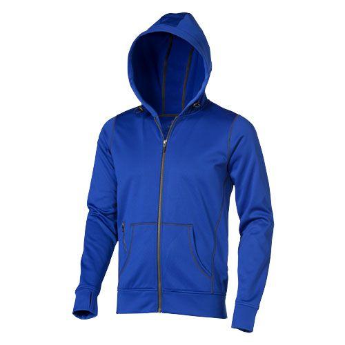 Sweat à capuche bleu publicitaire