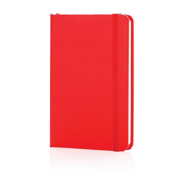 Cadeau publicitaire - Carnet de notes publicitaire A6 Basic rouge