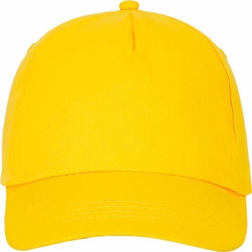 Casquette publicitaire jaune Fenikis