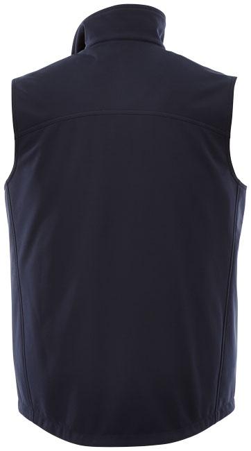 Textile promotionnel - Bodywarmer publicitaire Softshell Stinson