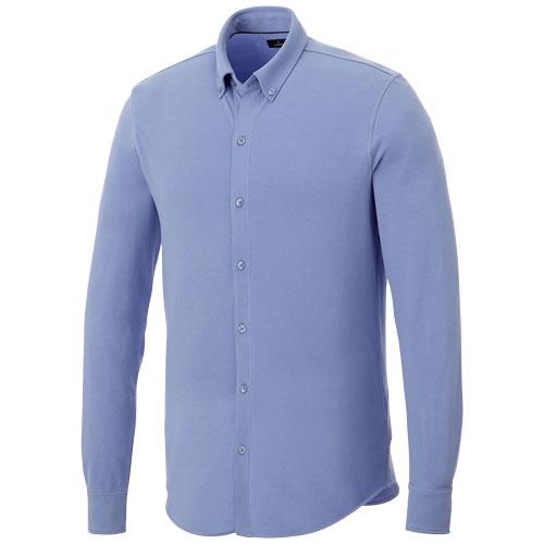 chemise pour homme personnalisable en coton Bigelow - textile publicitaire oeko-Tex