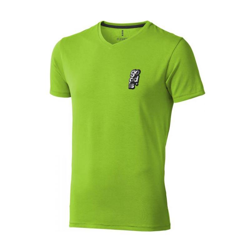 Textile personnalisé - T-shirt bio personnalisé manches courtes homme Kawartha