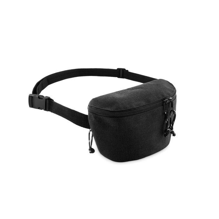 cadeau publicitaire - sac banane publicitaire 2 poches zippées Streetbag