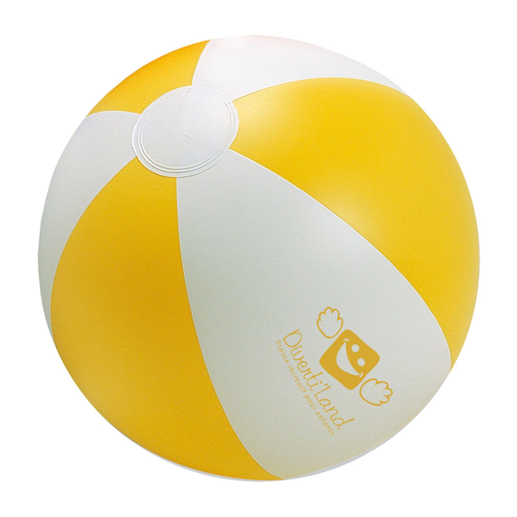 Accessoire publicitaire pour la plage - Ballon de plage Sunny - bleu