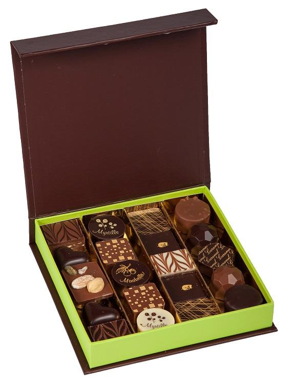 Cadeau publicitaire - Coffret chocolats De Boissy 255 g