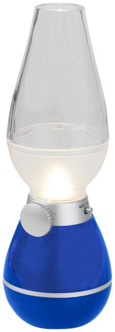 cadeau publicitaire - Lanterne publicitaire Hurricane bleu