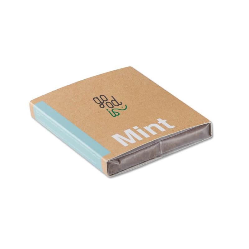 Kit de plantation personnalisable - Substrat avec graines Menthe MINT