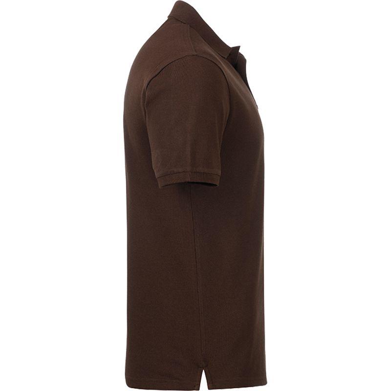 Textile publicitaire écologique - Polo personnalisé bio H Carl - gris chiné