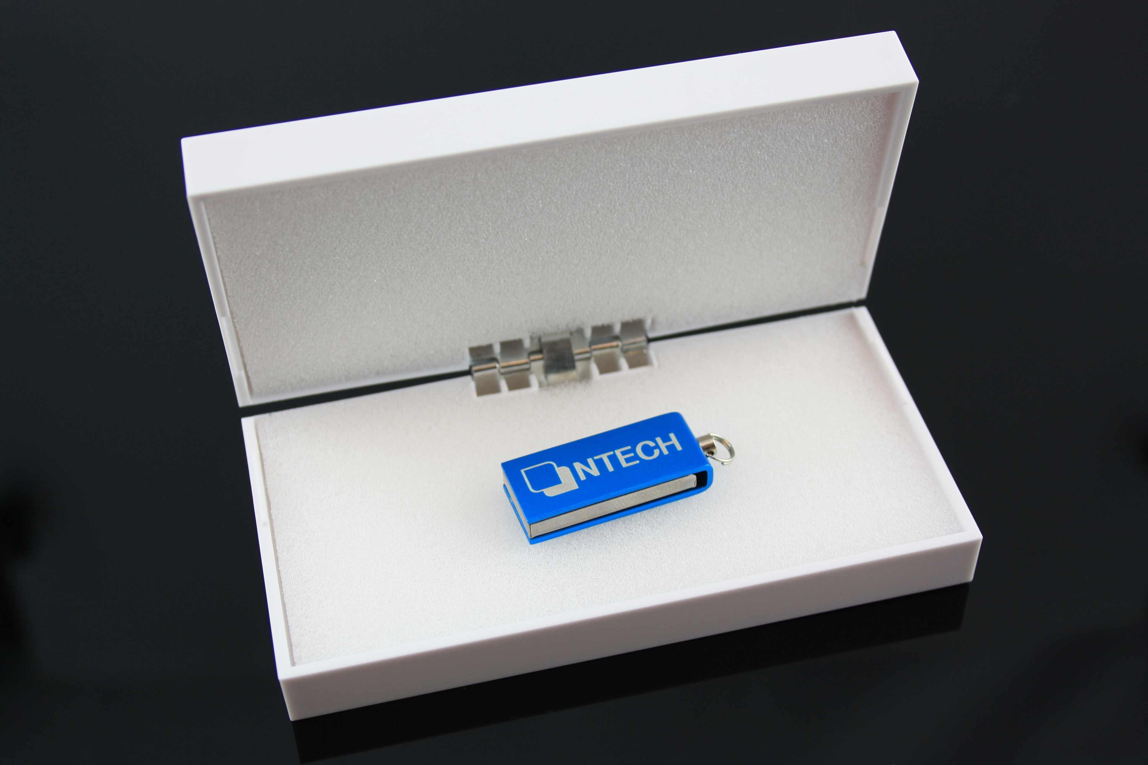 Clé USB publicitaire Twist vert