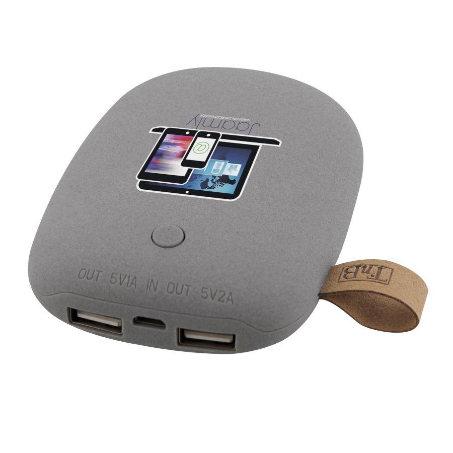 Chargeur téléphone publicitaire - Batterie de secours publicitaire  Stone 6600 mAh
