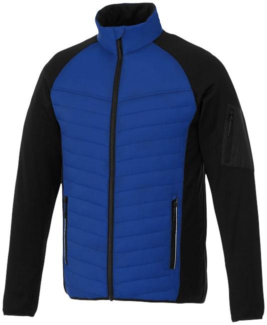 Textile promotionnel - Doudoune personnalisée hybride Banff homme