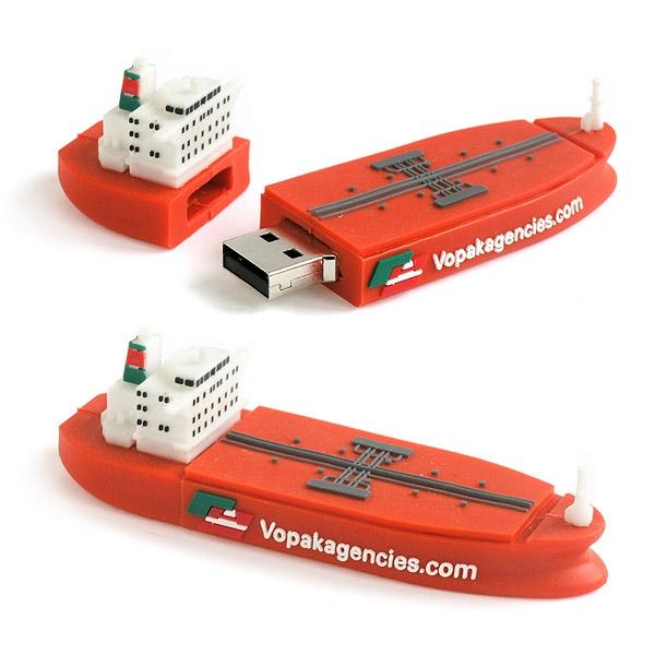 Clé USB publicitaire fashion 3D Made - Clé USB personnalisable 3D