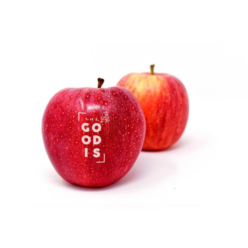 Cadeau promotionnel écologique - Pomme publicitaire