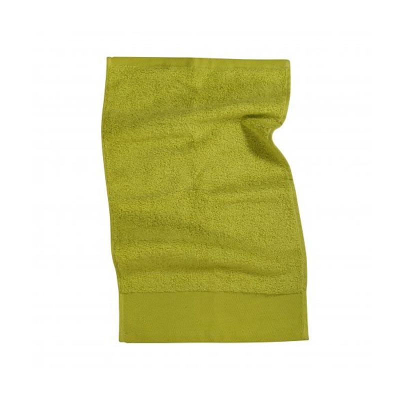 Serviette de toilette personnalisable MIND - vert