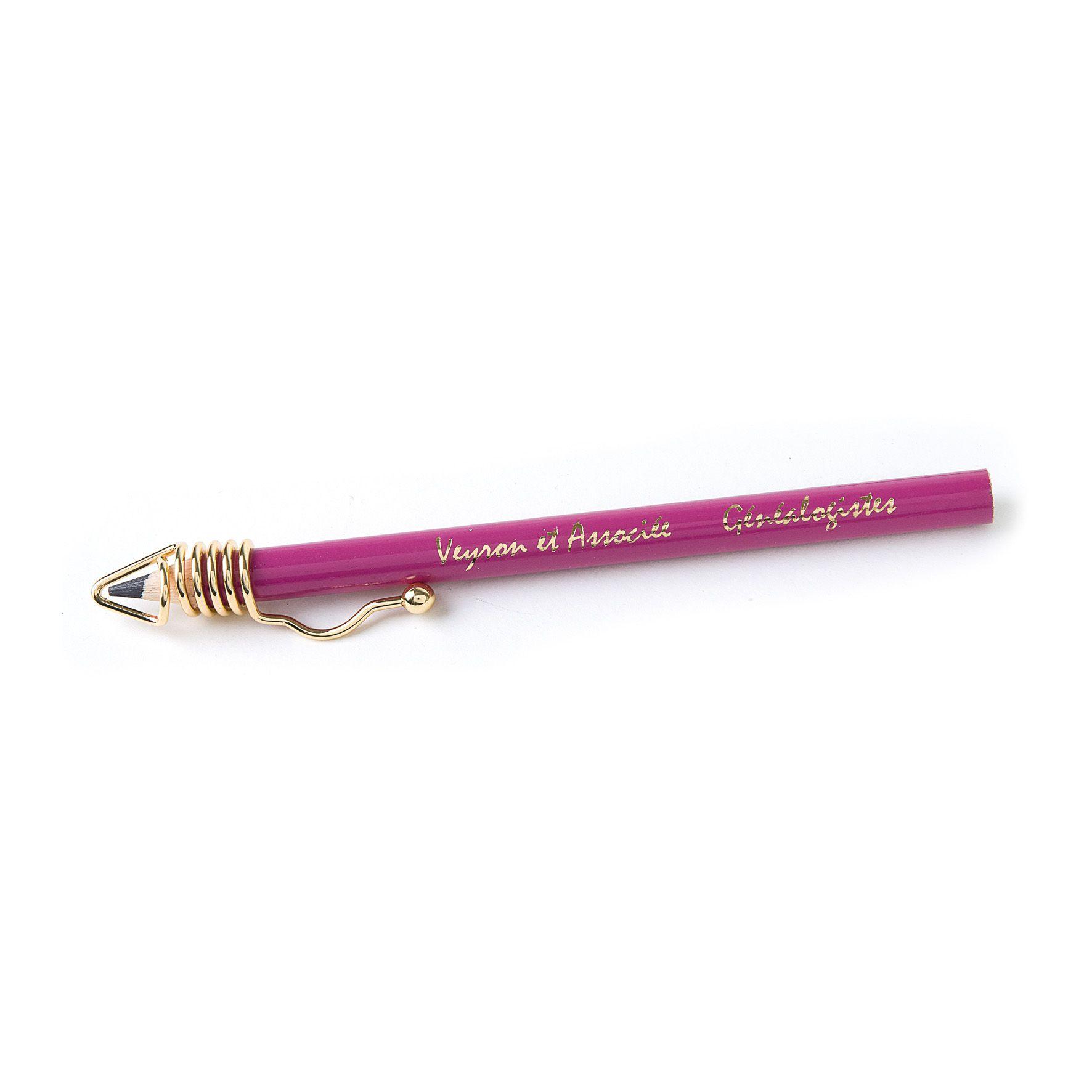 goodies made in france - crayon à papierpersonnalisé pantone Clip one