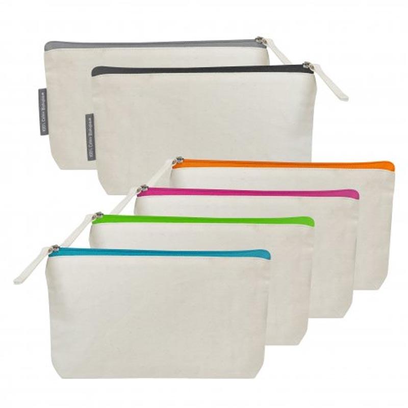 Trousse publicitaire en coton bio Biotifulday - Coloris disponibles