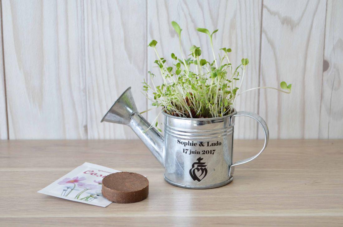 L'arrosoir à graines - kit de plantation personnalisé