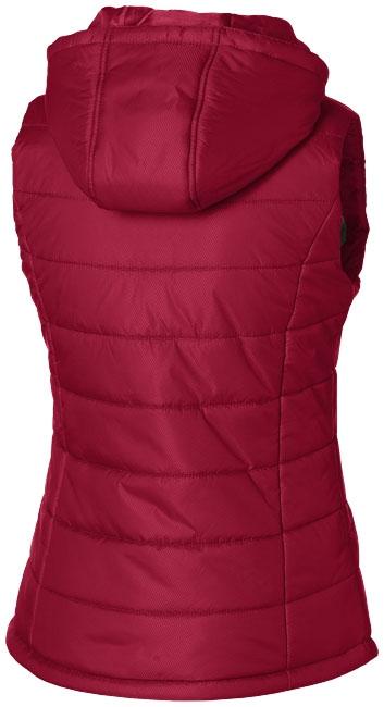 Bodywarmer publicitaire Mixed Doubles Femme - rouge