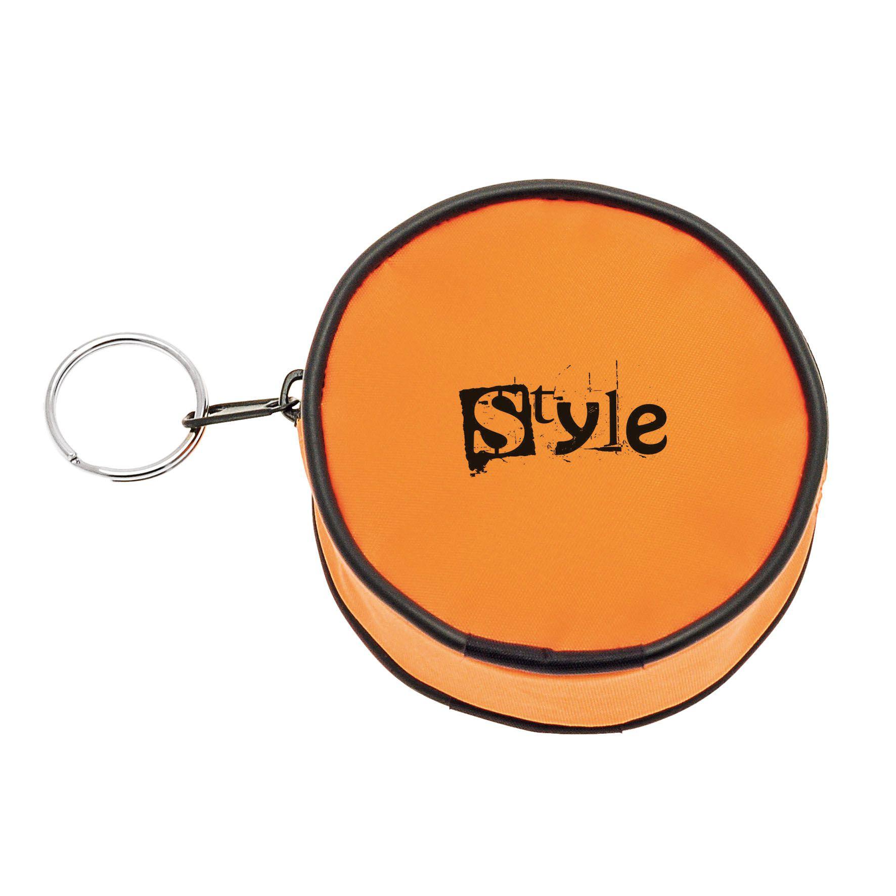 Goodies - Mini porte-monnaie publicitaire Circle - orange