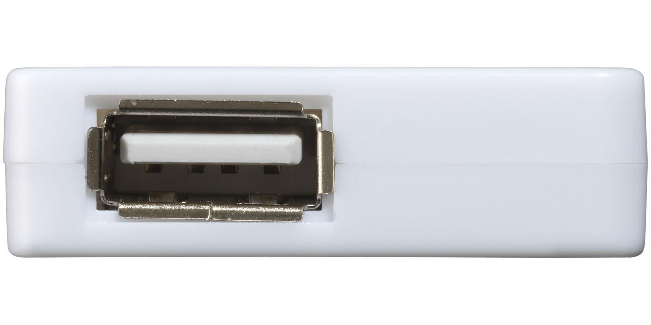 Cadeau d'entreprise - Hub USB publicitaire Brick - bleu