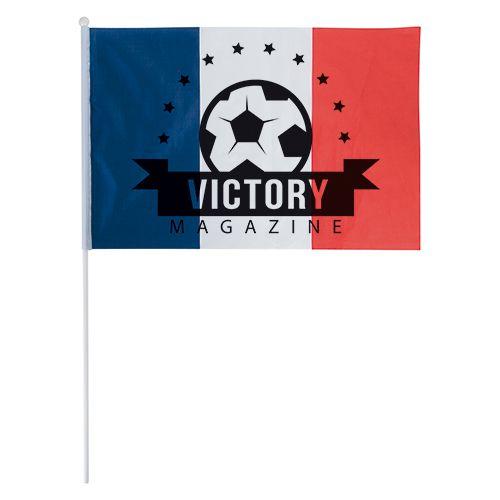goodies tricolore - drapeau français publicitaire 45 x 30 cm